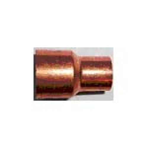 Buy mm copper end feed red socket at wise water